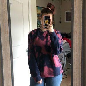 acid washed izod sweatshirt